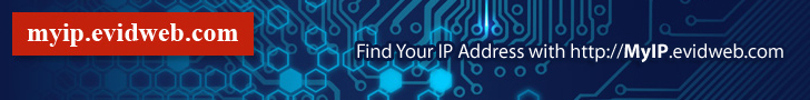 Find, get, and show my IP address. IP address lookup and location | MyIP.evidweb.com